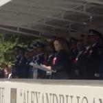 """Carmen Dan, discurs inadmisibil la depunerea juramantului militar la Academia de Politie. Atacuri politicianiste: """"Cine are de castigat de pe urma unei asemenea abordari?"""""""
