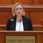 """""""Dati dovada ca sunteti domni"""". Mesaj iritat al lui Carmen Dan in plenul Parlamentului: """"Acceptati ca intr-un stat civilizat violentele nu sunt acceptate"""""""