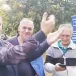 """""""Suntem in fata conacului infractorului Liviu Dragnea"""". Malin Bot s-a dus din nou acasa la seful PSD, in Teleorman – Video"""