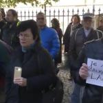 Sibienii, in strada in numar mare pentru sustinerea lui Lazar. 300 de zile de proteste fara pauza – Video