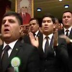 Cum arata Dragnea al Turkmenistanului. Ovationat frenetic dupa ce a anuntat ca elimina gratuitatile la utilitati – Video