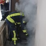 """Tentativa de incendiere a sediului PSD Cluj. Liderii PSD striga ca sunt victime ale """"anarhismului"""""""