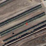 Imagini din satelit de la granita dintre Rusia si Ucraina. Moscova este pregatita de invazie
