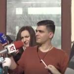"Pesedistii Vlad si Andreea Cosma, scuipati in fata Parchetului General: ""La puscarie sa va duceti, hotilor!"" – Video"