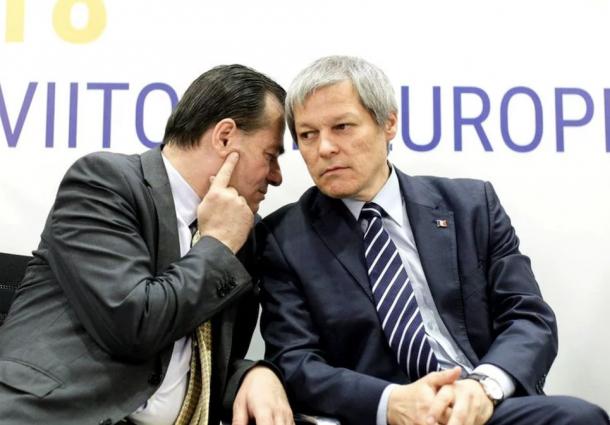 Dacian Ciolos si Ludovic Orban.