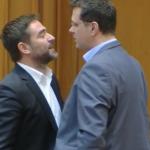 Plesoianu a luat-o razna in Parlament, a sarit la bataie. Enervat ca un deputat USR l-a jignit pe Voiculescu