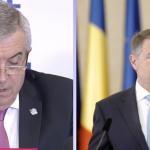 """""""Hotii trebuie platiti ca sa nu mai fure"""", logica lui Tariceanu. Ce raspuns are seful Senatului pentru Klaus Iohannis"""