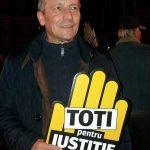 El este socrul lui Marian Godina. Sustinator activ al protestelor, are in spate 30 de ani de criminalistica