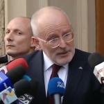 "Cum ii pune la punct Timmermans pe arogantii lideri ai PSD. Lectie de democratie: ""Ati castigat alegerile asa ca puteti decide totul?"""