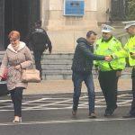 Nebunia de la Craiova. Cuplul Olguta-Manda a blocat tot orasul pentru mitingul PSD. Angajatii la stat sunt obligati sa participe