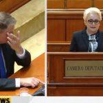"""L-a luat durerea de cap pe Iohannis cand a auzit-o pe Dancila. """"Imi cer scuze"""", atac stupid al premierului PSD la adresa presedintelui tarii"""