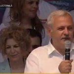 """Dragnea, atac disperat impotriva lui Iohannis la mitingul PSD: """"Am auzit pe cel mai mare mut pe care l-a dat politica, a inceput sa faca galagie"""""""