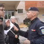 """Un protestatar de 17 ani ii tine piept sefului Jandarmeriei Mures: """"Nu cedez, PSD este vinovat pentru starea in care se afla acum Romania"""" – Video"""