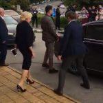 Intalnire ultra-secreta cu Dancila la Suceava. Liderii PSD au fost luati dintr-o benzinarie, pentru ca protestatarii sa nu afle unde e premierul