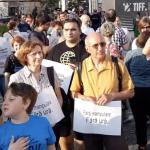 """""""Fara manipulare. Fara ura"""". Clujeni romani si maghiari, impreuna dupa incidentele din Valea Uzului – Video"""