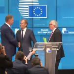 """Juncker si Donald Tusk i-au multumit lui Klaus Iohannis: """"Este impresionant ce a obtinut Romania. Realizare remarcabila"""""""