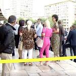 Pensionari si pitipoance in roz si animal print. Incepe Congresul PSD, delegatii vin la Sala Palatului – Video
