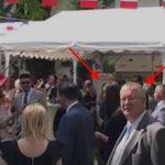 Bogdan Chirieac s-a speriat de Kovesi la Ambasada Frantei. S-a intors cu spatele, disperat sa nu il vada – Video