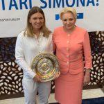 "Dancila s-a grabit sa ""make a photo"" cu Simona Halep. Teodorovici si-a facut si el aparitia"