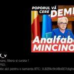 """Hackerii busesc din nou PSD-ul. Site-ul FRH a fost spart: """"Demisia, analfabeta mincinoasa"""""""
