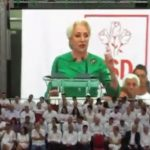 """De ce i-a dat afara pe jurnalisti. Intre pesedisti, Dancila anunta ca va castiga alegerile prezidentiale: """"Se da o lupta a romanilor pentru romani"""" – Video"""