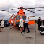 Dancila se deplaseaza cu elicopterul in turneul electoral din Moldova. Moldova, singura regiune fara autostrada