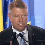 """BREAKING Klaus Iohannis: """"Nu poate exista nicio dezbatere cu un candidat al unui partid care a guvernat impotriva romanilor trei ani de zile"""""""