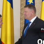 Orban a depus juramantul la Cotroceni. Ciolacu si Melescanu au venit si ei la piscoturi