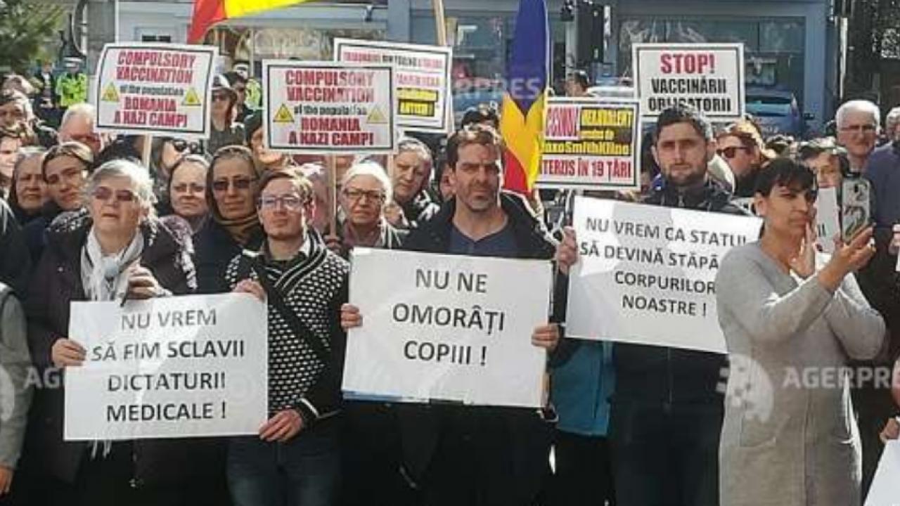 """Nu ne omorati copiii"""". Miting in Buzaul lui Ciolacu impotriva ..."""